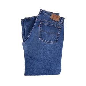 Levi's 501 Men's Straight Button Fly Jeans Size 36
